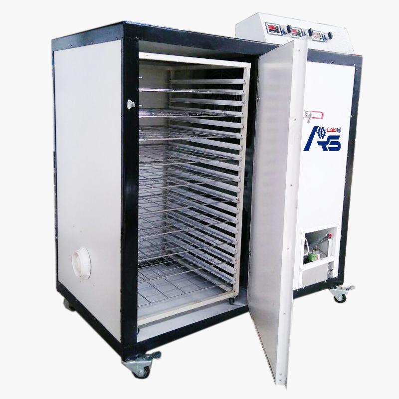 دستگاه خشک کن میوه نیمه صنعتی گازی