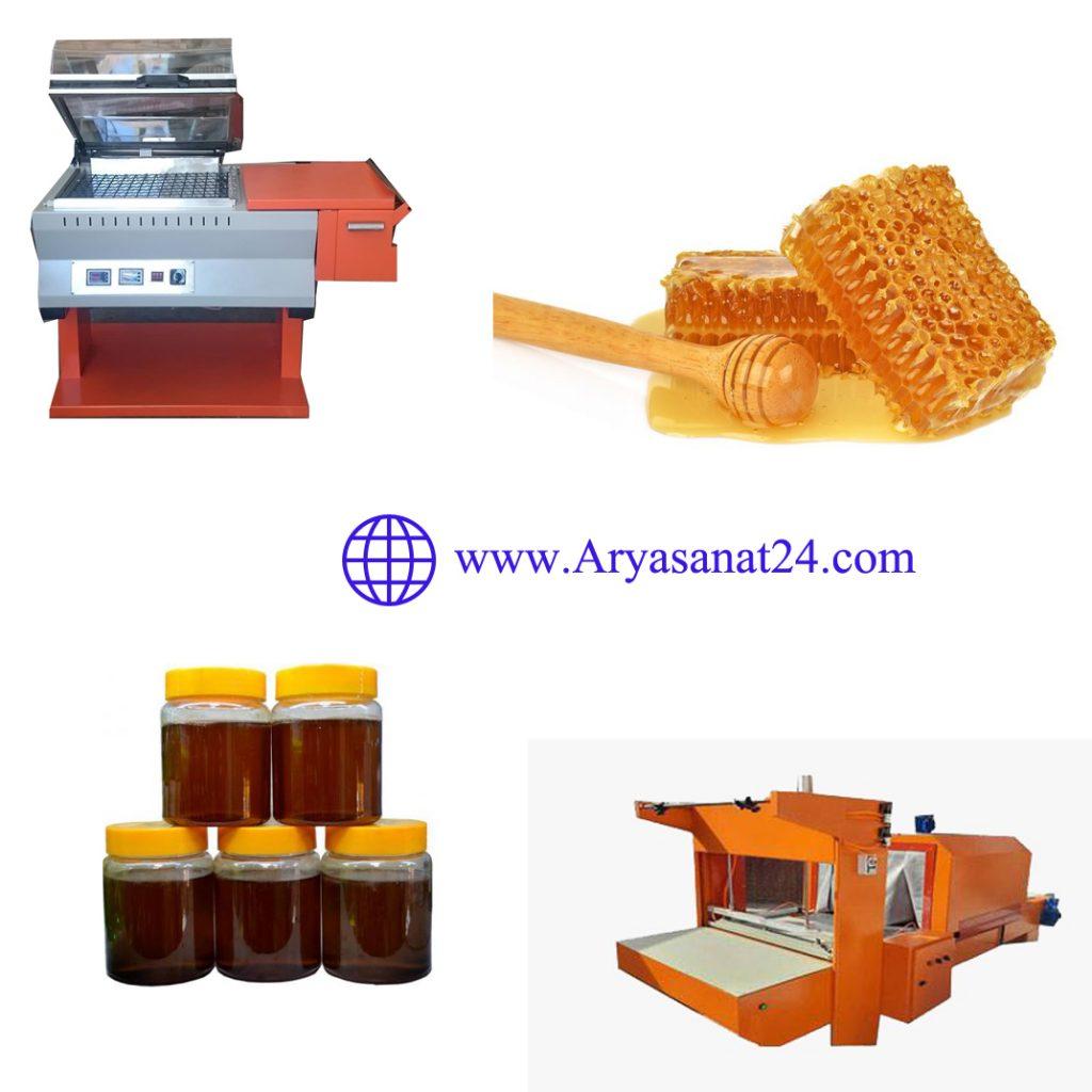 دستگاه بسته بندی عسل